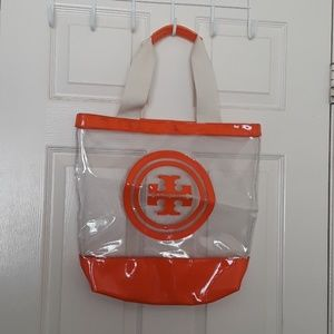 AUTHENTIC TORY BURCH  BEACH TOTE